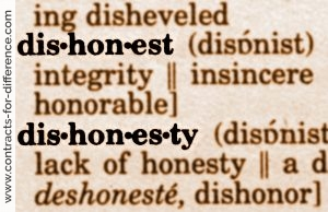Dishonest Advisory Brokers