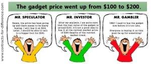 Investor vs Speculator