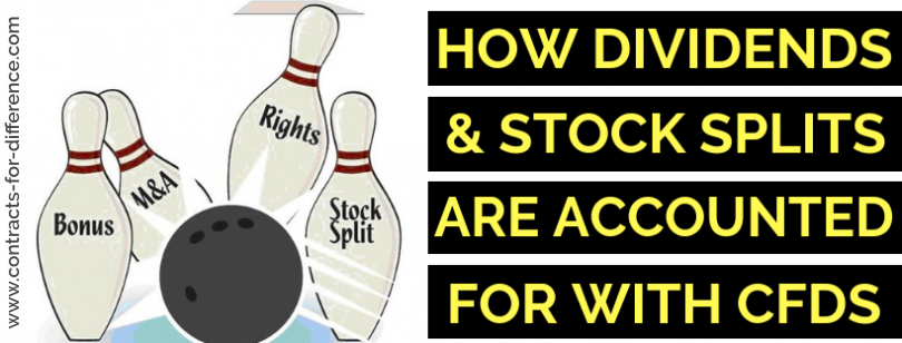 How Dividends, Stock Splits...etc are accounted for in CFD Trading