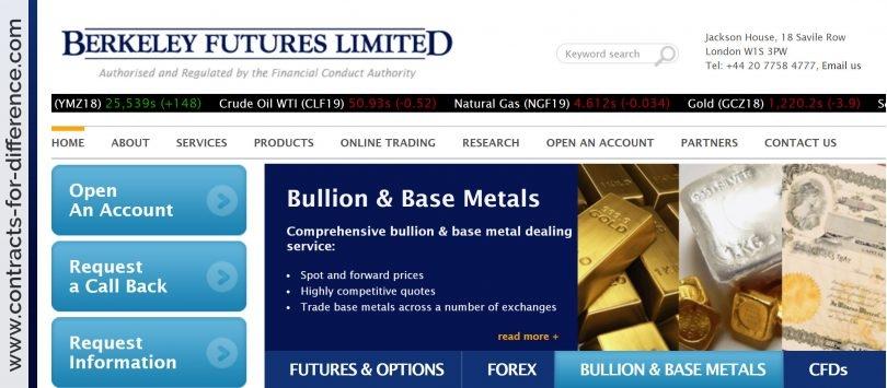 Berkeley Futures Ltd